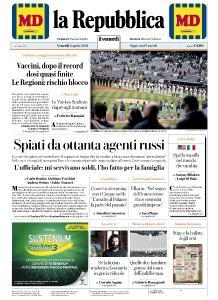 la Repubblica - 2 Aprile 2021