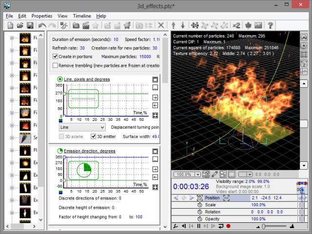 Astralax Magic Particles 3D (Dev) 3.51 Portable