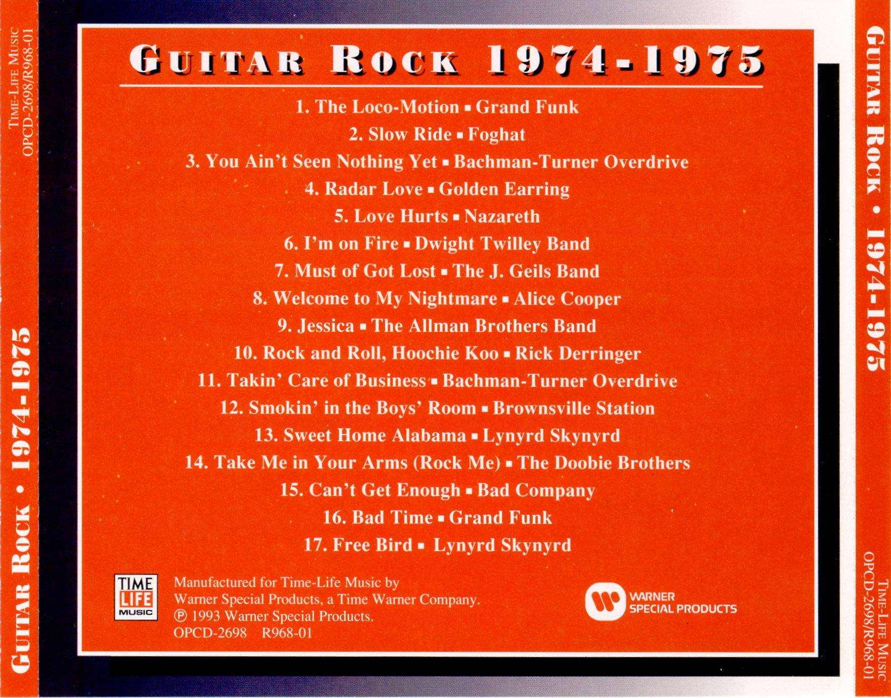 Time Life - Guitar Rock 1974 - 1975