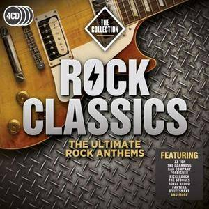 VA - Rock Classics: The Collection (4CD, 2017)