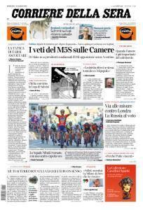 Corriere della Sera - 18 Marzo 2018