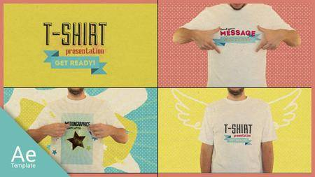 T Shirt Opener - Project for After Effects (VideoHive)