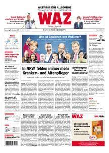 WAZ Westdeutsche Allgemeine Zeitung Oberhausen-Sterkrade - 28. Dezember 2017