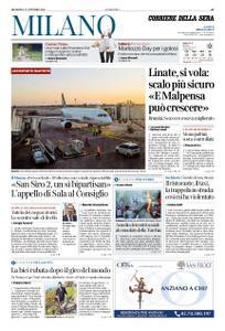 Corriere della Sera Milano – 27 ottobre 2019