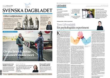 Svenska Dagbladet – 03 februari 2019
