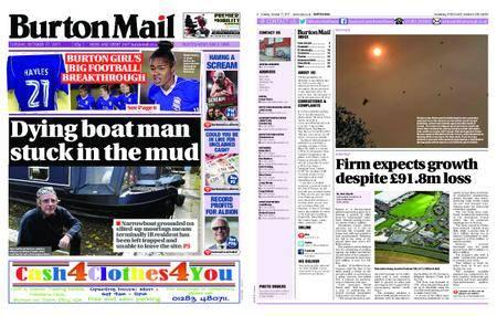 Burton Mail – October 17, 2017