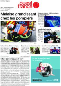 Ouest-France Édition France – 18 septembre 2019