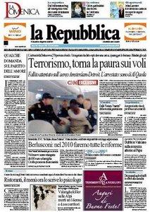 La Repubblica (27-12-09)