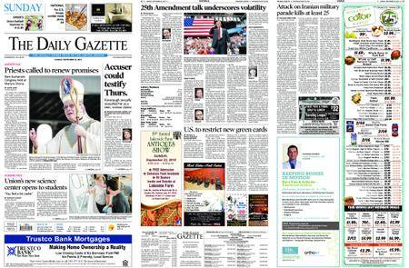 The Daily Gazette – September 23, 2018