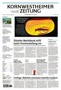 Kornwestheimer Zeitung - 16. Juni 2018