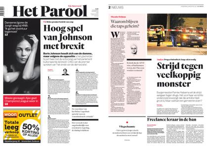 Het Parool – 29 augustus 2019
