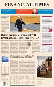 Financial Times Europe – 17 January 2020