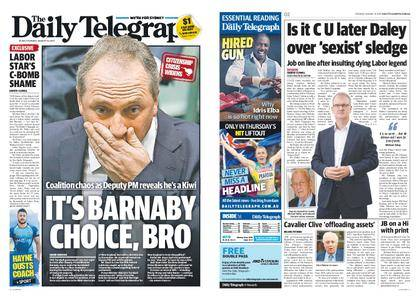 The Daily Telegraph (Sydney) – August 15, 2017