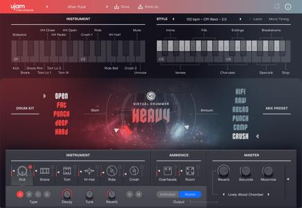 UJAM Virtual Drummer HEAVY v2.0.0.192 WiN