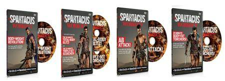 The Spartacus Workout - 4 DVD's