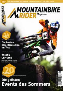Mountainbike Rider – August 2018