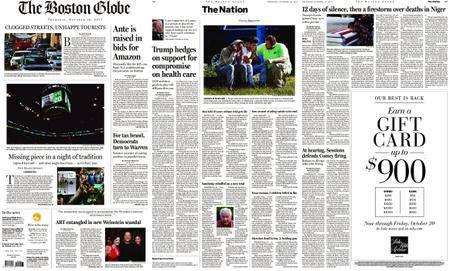The Boston Globe – October 19, 2017