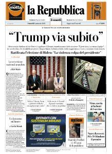 la Repubblica - 8 Gennaio 2021