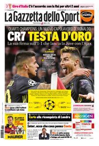 La Gazzetta dello Sport – 11 aprile 2019