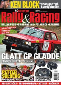 Bilsport Rally & Racing – 23 maj 2019