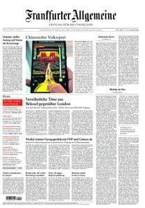 Frankfurter Allgemeine Zeitung F.A.Z. - 21. Oktober 2017