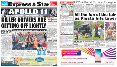 Express and Star Sandwell Edition – July 15, 2019