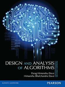 Design and Analysis of Algorithms 2nd Edition