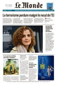Le Monde du Dimanche 25 et Lundi 26 Mars 2018