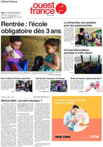 Ouest-France Édition France – 02 septembre 2019