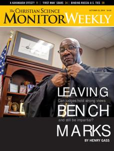 The Christian Science Monitor Weekly - October 22, 2018