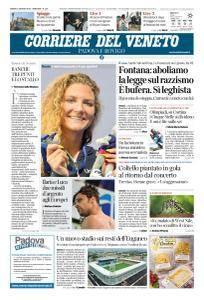 Corriere del Veneto Padova e Rovigo - 4 Agosto 2018