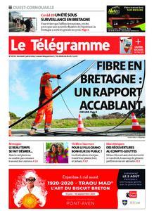 Le Télégramme Ouest Cornouaille – 09 juillet 2021
