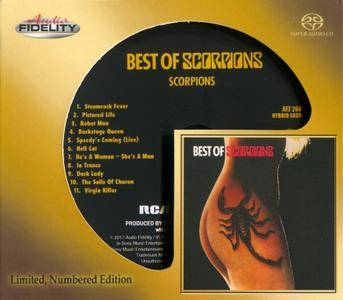 Scorpions - Best Of Scorpions (1979) {2017, SACD, Limited Edition, Remastered} Audio CD Layer