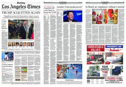 Los Angeles Times – February 14, 2021