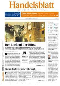 Handelsblatt - 22. November 2016