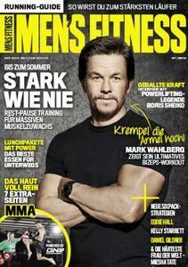 Mens Fitness Magazin Juli No 07 2016