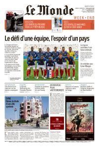 Le Monde du Samedi 14 et Lundi 16 Juillet 2018