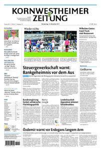 Kornwestheimer Zeitung - 14. Dezember 2017