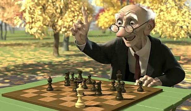 Cartoon - Geri's Game