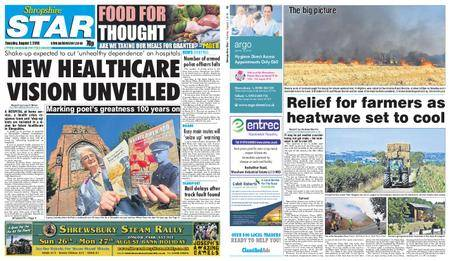 Shropshire Star Shrewsbury Edition – August 07, 2018