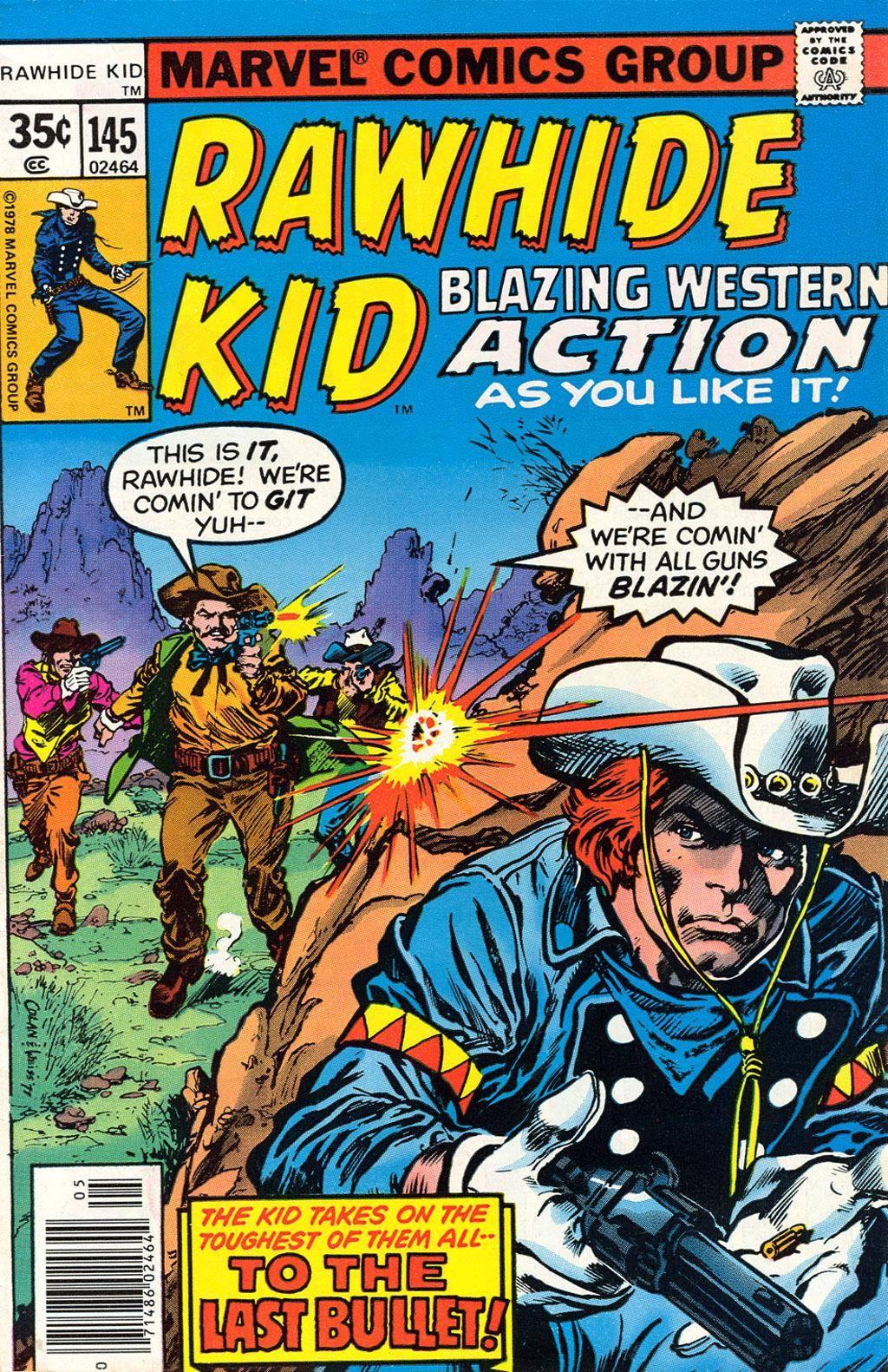 Rawhide Kid v1 145 1978 Brigus