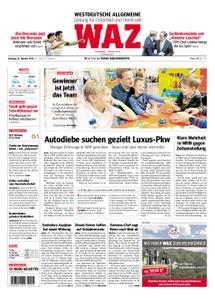 WAZ Westdeutsche Allgemeine Zeitung Oberhausen-Sterkrade - 23. Oktober 2018