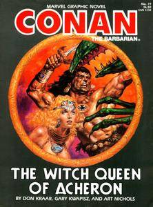 Marvel Graphic Novel 19 - The Witch Queen of Acheron 1985