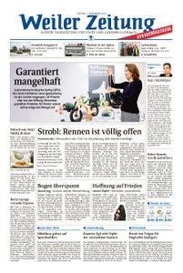 Weiler Zeitung - 07. Dezember 2018