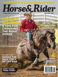 Horse & Rider USA - November 2018
