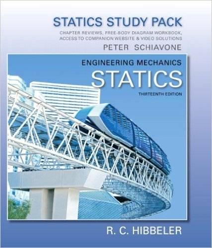 Study Pack For Engineering Mechanics  Statics  13th Edition     Avaxhome