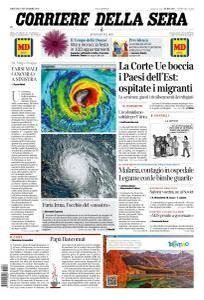 Corriere della Sera - 7 Settembre 2017
