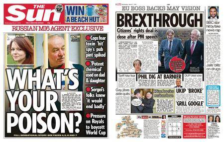 The Sun UK – 07 March 2018