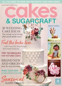 Cakes & Sugarcraft - August-September 2018