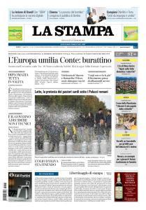 La Stampa Torino Provincia e Canavese - 13 Febbraio 2019